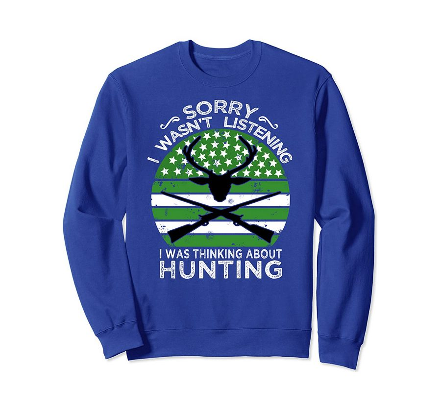 Funny Hunting Gift For Bow And Rifle Deer Hunters Sweatshirt 1